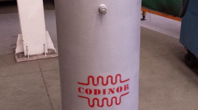 Compensador Presurizado Externamente Modelo Codinor FWB2 EP Dn 300 Pn 40