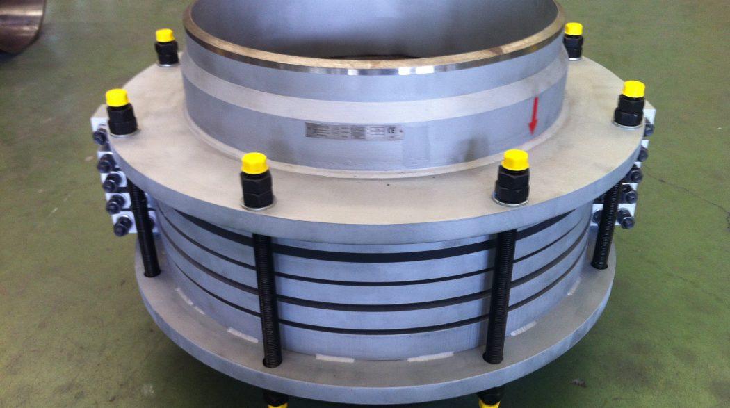 Codinor, Diseña Y Fabrica Junta De Expansión Externamente Reforzada Para Alta Presión