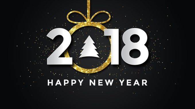 Feliz Año Happy New Year 2018 1