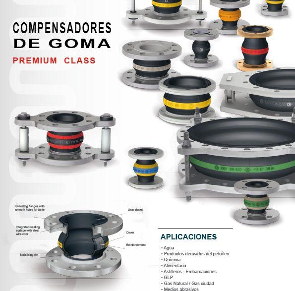 """Compensadores De Goma """"PREMIUM CLASS"""""""