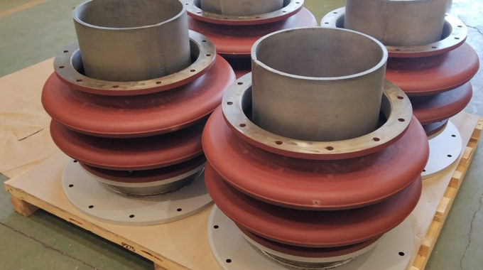 Metallic Expansin Joints On Towers Of A Furnaces