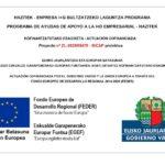 CODINOR Participa En El Programa De Ayudas De Apoyo A La I+D Empresarial -HAZITEK- Enpresa I+G Bultzatzeko Laguntza Programan Parte Hartu Du CODINOR