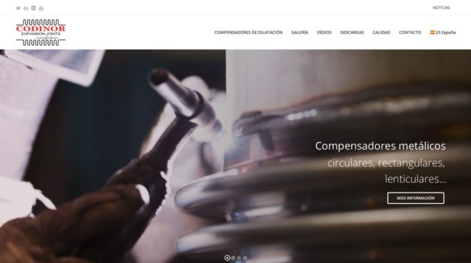 Codinor Expansion Joints Website