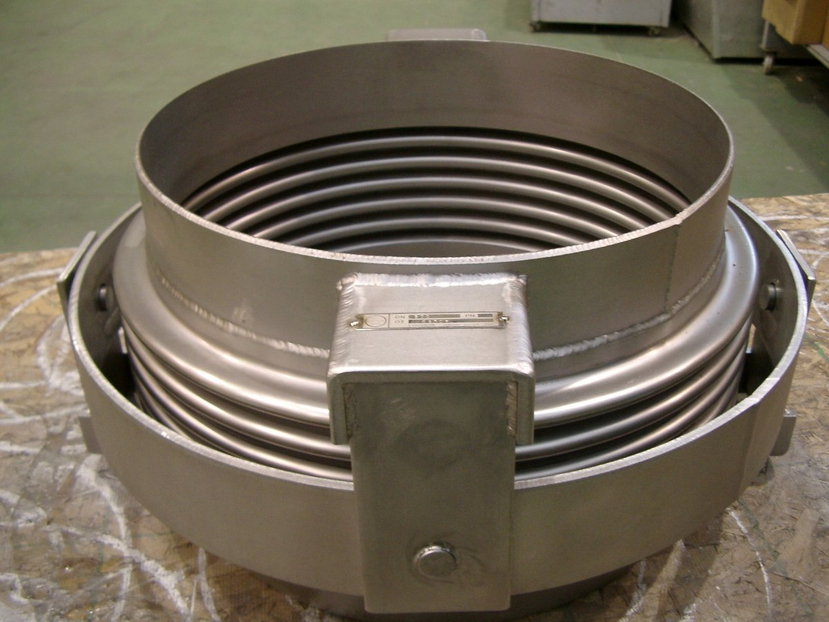 Compensador de dilatación metálico