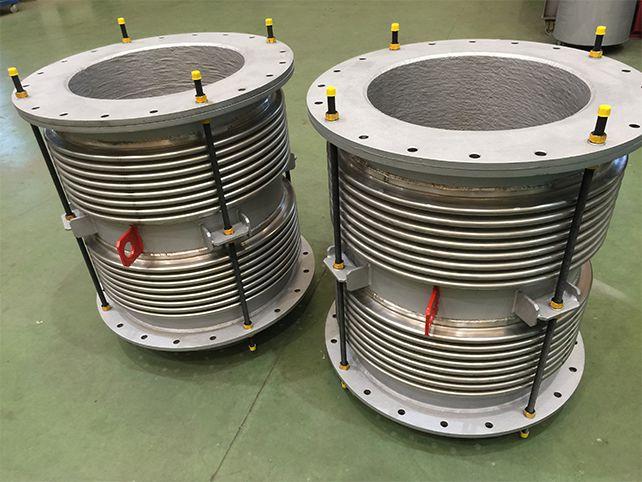 Compensador De Dilatación Para Uso En Alta Temperatura Y Con Producto Muy Abrasivo